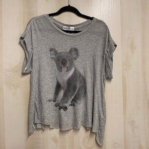 NWT Wildfox Koala Bear Tee Size XS